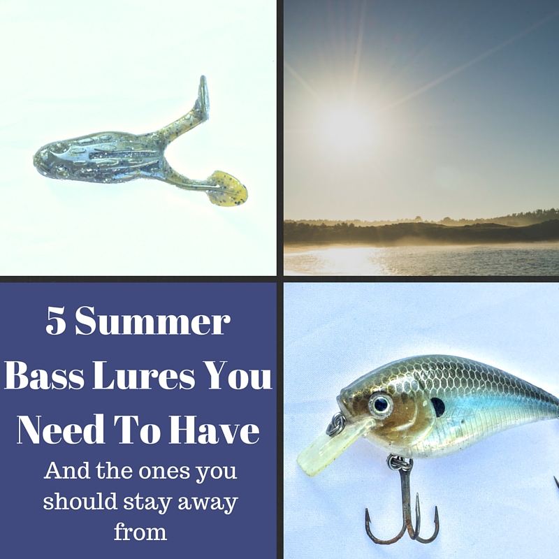 5 lures for summer bass fishing