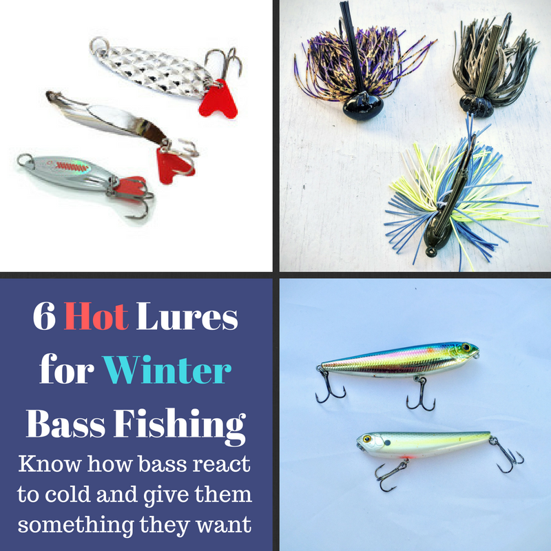 6 Winter Bass Fishing Lures