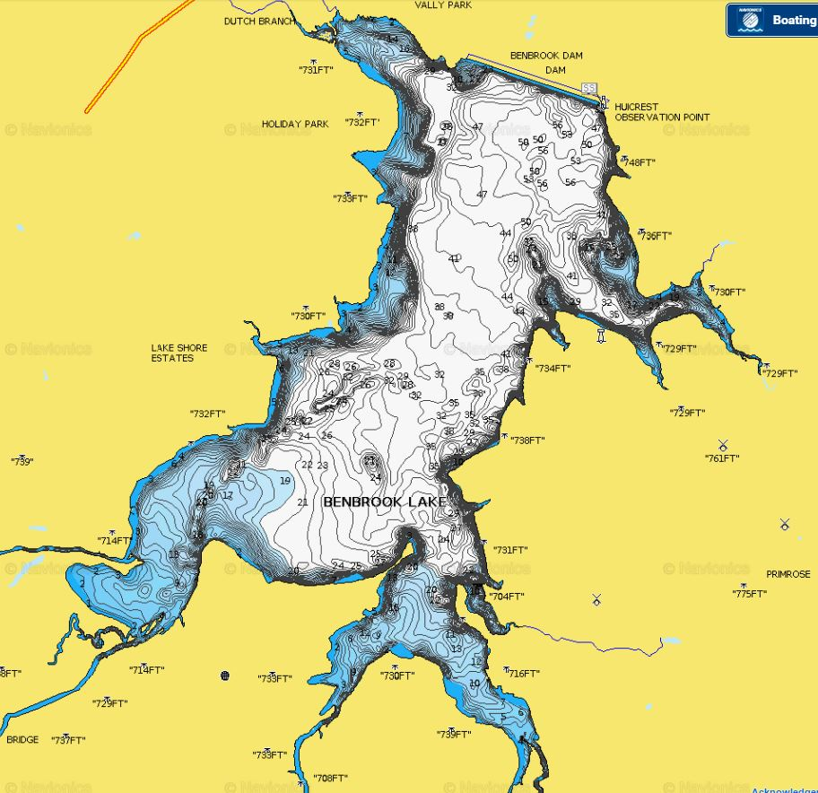 Understanding Topographic Lake Maps For Better Largemouth Bass Fishing