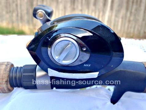 Magnetic Brakes on a Baitcast Reel