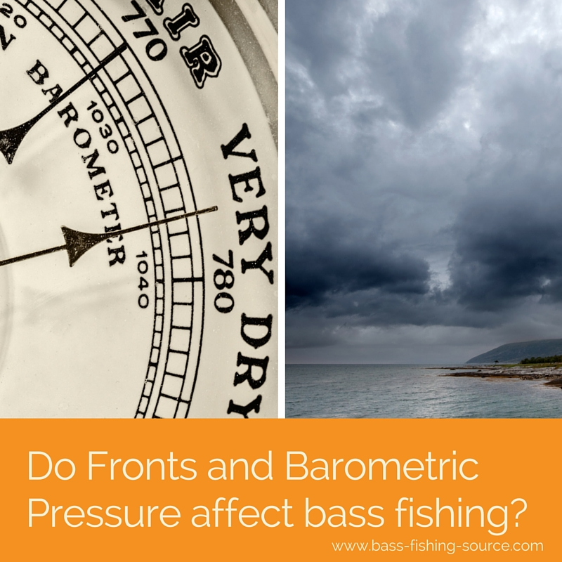 Barometric pressure and fronts