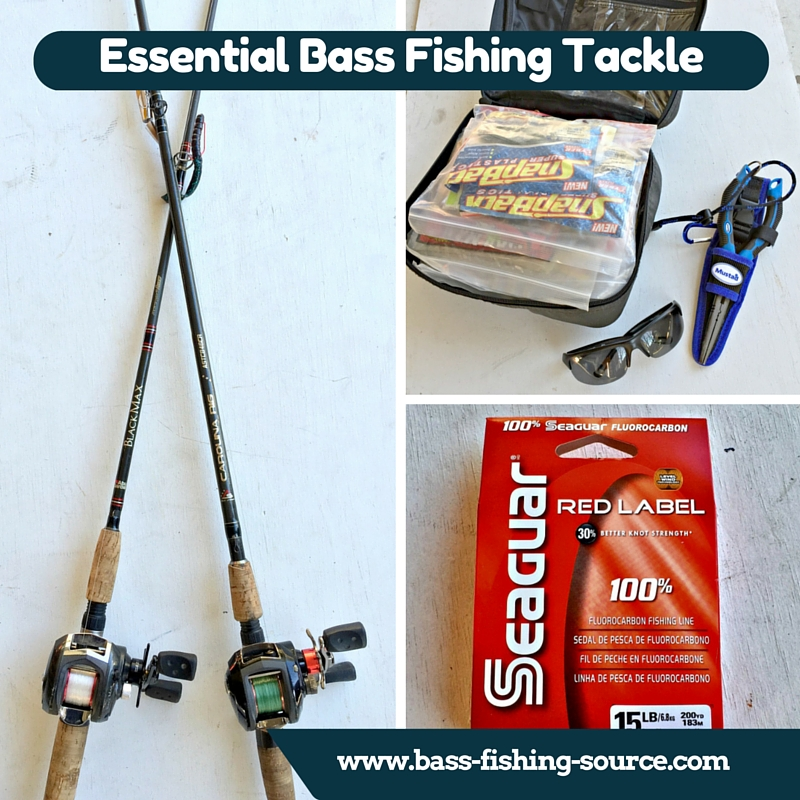 Bass Fishing Tackle - The gear to get the bass.