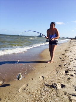 Family trip to corpus for Corpus christi fishing spots