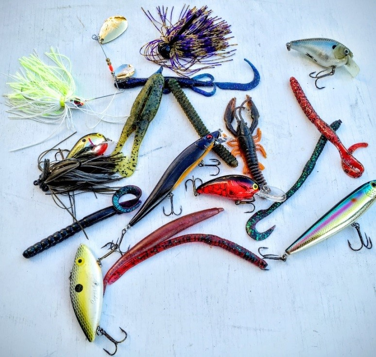 bass lure colors