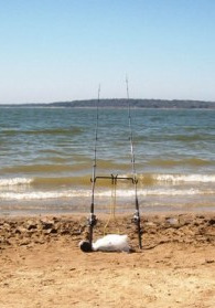 Bank Fishing Texoma