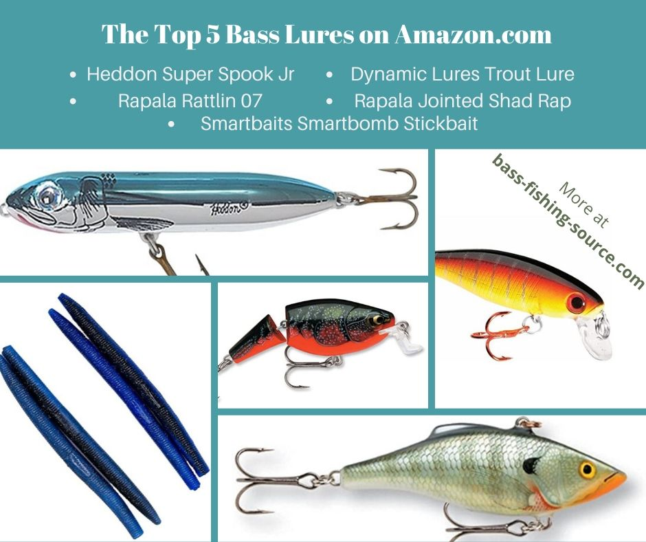 The Top 5 Bass Lures at Amazon.com