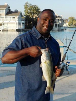 Second catch was the first bass caught on my Quantum Tournament grade and Accurist fireburner.
