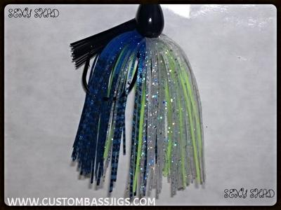 custom bass jigs
