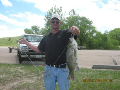 Steve's catch of the day!!